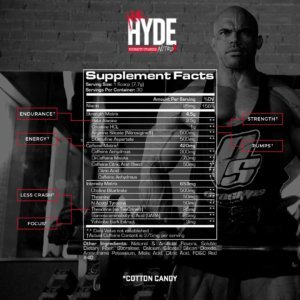Mr. Hyde NitroX Pre Workout - Beast Fit Nutrition