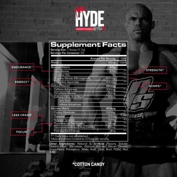Mr. Hyde NitroX Pre Workout - Beast Fit Nutrition