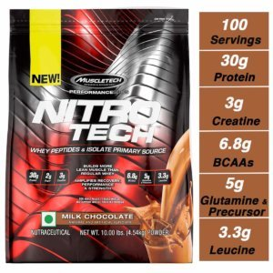 Muscletech Nitro tech Whey ISOLATE Beast Fit Nutrition