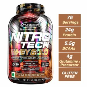 Muscletech Nitro tech Whey Gold Beast Fit Nutrition