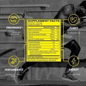 c4 preworkout beast fit nutrition