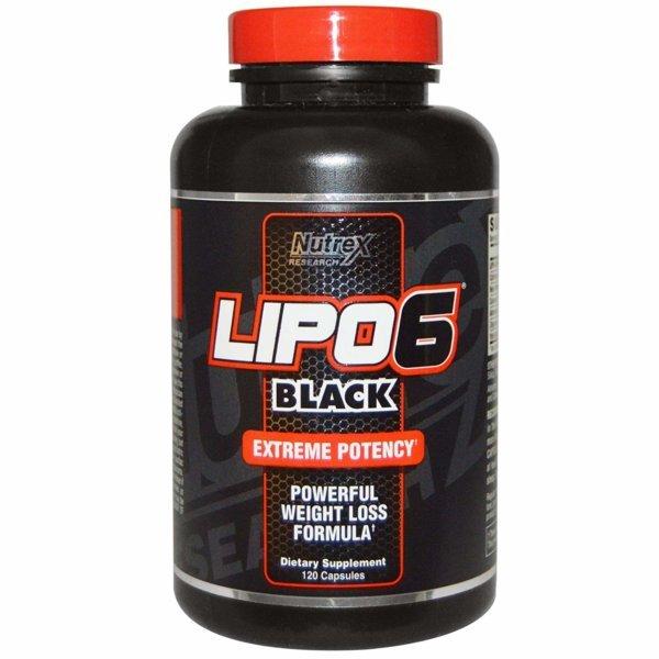 Nutrex Lipo-6 Black - beast fit nutrition