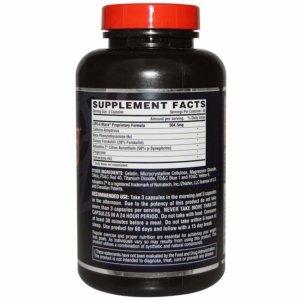 Nutrex Lipo-6 Black bck - beast fit nutrition